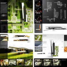PAST PRESENTATION BOARDS: PART3 - BLOG - architectural rendering and illustration blog