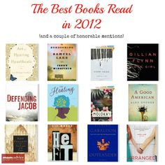The Best Books Read in 2012.