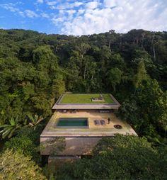 19 fotos increíbles de una casa construida en mitad de la jungla - Yahoo Finanzas España