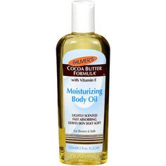 $5.47 Palmers Moisturizing Body Oil. Want to try this mixed with the Skin Firming Lotion, reviews & testimonials have said it works amazing together to combat stretch marks and tighten skin! PERFECT!!!