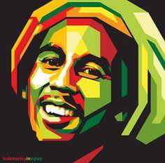 Bob Marley Pop Art Portrait Acrylic On Canvas Bob Marley Kunst, Bob Marley Art, Fotos Do Bob Marley, People Illustration, Illustration Art, Bob Marley Painting, Reggae Art, Bob Marley Pictures, Sketch Manga