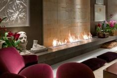 AFIRE high-end smart fireplace, a modern & eco-friendly concept to design your decorative ventless fireplace, ethanol burner, water vapor electric fireplace Fireplace Design, Fireplace Mantels, Camino Design, Bioethanol Fireplace, Fireplace Inserts, Hearth, Home Furnishings, Living Room Decor, Foyer
