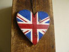 Union Jack flag United Kingdom flag British flag by BalticWoods