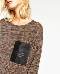 Image 7 of POCKET TOP from Zara