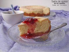 Suma de Colores: Tarta de queso (New York Cheesecake)