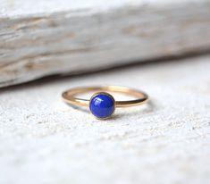 Gold Lapis Lazuli Ring. Lapis Ring Lapis Lazuli Ring