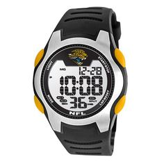 Game Time Mens NFLTRCJAC Training Camp Watch  Jacksonville Jaguars >>> Learn more by visiting the image link.