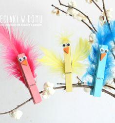 Tollas csipesz madárkák - vidám tavaszi dekoráció / Mindy -  kreatív ötletek és dekorációk minden napra
