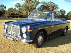 Rover 3 Litre Drophead Coupe (convertible) by Panelcraft.