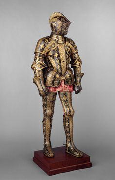Armor Garniture of George Clifford (1558–1605), Third Earl of Cumberland. 1586 England. Fashion in European Armor. The Met's Heilbrunn Timeline of Art History