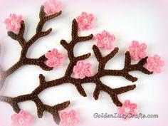 Cherry Blossom -  Crochet Pattern
