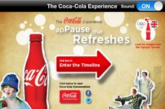 Check out the Coca-Cola Experience for the iPad.