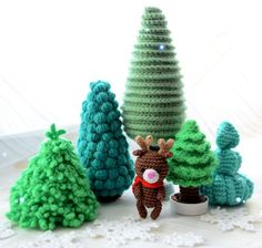 Crochet reindeer free pattern