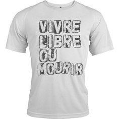 """t-shirt révolution """"Vivre Libre ou Mourir"""" TM-3068"""