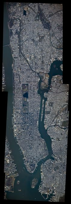 Manhattan from the International Space Station