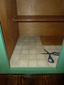 5 Acres & A Dream: Lining Cabinet Shelves Without Shelf Paper ...