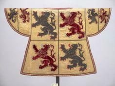 Hainaut -- Wappenrock für den Wappenkönig-Herold der Grafschaft Hennegau, 1715 -- Künstler: Louis Aimé , (Sticker)