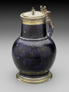 Malling jug 1550-1551 English tin ware| Museum of Fine Arts, Boston