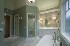Master Bathroom and Shower
