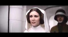 ABC News nos muestra cómo crearon a Leia y Tarking en Rogue One usango CGI
