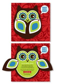 Cute baby shower invitation idea. We would use different colors though..