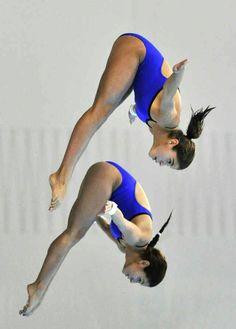FJT: Paola Espinosa y Alejanda Orozco de México Paola Espinosa, Diving Springboard, Daddys Little Girls, High Energy, Swimming, Female Form, Streetwear, Training, Literatura
