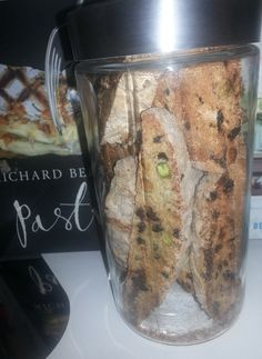 #Pistachio & #Chocolate #Biscotti for that mid-morning coffee or with hot chocolate, for a good night snack.