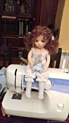 Коллекционные куклы ручной работы. Келли.Текстильная кукла. Lana K.. Ярмарка Мастеров. Интерьерная игрушка