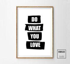 A3 plakat_Do what you love - MAMBALAGA -