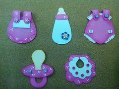 Recuerditos Para Baby Showers ~ Ideas de recuerdos para baby shower de goma eva