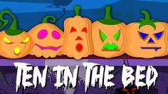 ten in the bed pumpkins | nursery rhymes | scary songs | childrens rhymes