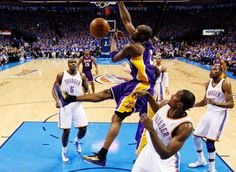 Kobe Bryant's SICK Reverse Dunk & 5 Dunks Total Against OKC in GM5