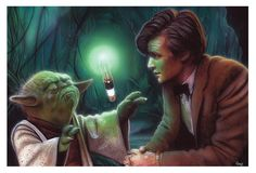 What happens when a Time Lord consults with a Jedi Master?