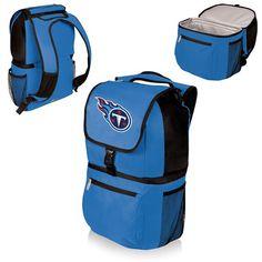 nice Tennessee Titans Digital Print Zuma Cooler Backpack Blue