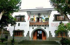 Spain, Canarias, Gran Canaria, Firgas town hall