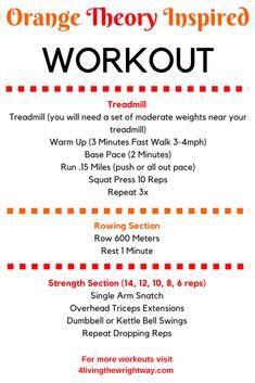 Flex Friday! Orange Theory Inspired Workout
