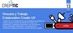Portada de 13º Boletín Creatic, que releva el trabajo de vinculación interna y externa en la Universidad de Valparaíso, Creatic ha consolidado vínculo con entidades sobre las cuales edifica su trabajo futuro