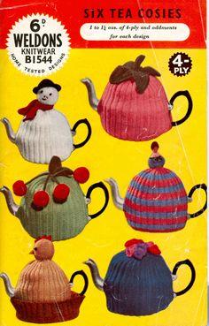 vintage tea cosy knitting pattern