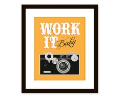 Items similar to Retro art-vintage camera art-typographic art poster - Funny quote art -work it on Etsy Funny Photography, Quotes About Photography, Photography Camera, Art Vintage, Retro Art, Vintage Posters, Art Quotes Funny, Quote Art, Facebook E Instagram