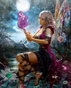 The perfect Fantasy Fairy Animated GIF for your conversation. Discover and Share the best GIFs on Tenor. Fantasy Girl, Fantasy Art Women, Beautiful Fantasy Art, Beautiful Fairies, Fantasy Forest, Forest Fairy, Fairy Pictures, Fantasy Pictures, Fantasy Artwork