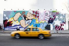 Street art: Top ten spots to see street art and graffiti in NYC