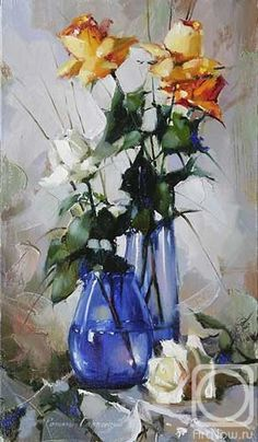 Gappasov Рамиль.  Натюрморт с розами