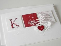 Kärtchenbogen rot Love Cards, Diy Cards, Handmade Cards, Memory Box Dies, Silk Ribbon Embroidery, Penny Black, Winter Theme, Card Templates, Cardmaking