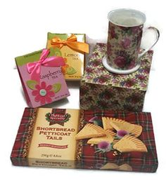 Teatime Mothers Day Bundle - Four Items: One Kent Pottery Fine China Set of Tea Mug and Lid/coaster, One 250g Box of Highland Specialty Scottish Shortbread Petticoat Tail Cookies, Two 9g Packets Too Good Gourmet Teas, Raspberry and Lemon. Kent Pottery, Highland Specialty, Too Good Gourmet http://www.amazon.com/dp/B00VZ1WXVW/ref=cm_sw_r_pi_dp_QDumvb0DNJ3ZZ