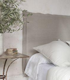 White Bedding In a Bag Cute Home Decor, Home Decor Styles, Cheap Home Decor, Entryway Decor, Bedroom Decor, Bed Frame Sizes, Linen Headboard, Headboards, White Bedding
