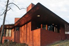 FLW Kraus House, Kirkwood MO -Ebsworth Park, all original furnishings and fabrics.