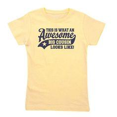 2e6f7c1c971 Awesome Big Cousin T-Shirt Baseball Tees