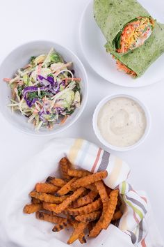 Decisions, decisions, decisions. It's National Ranch Dressing Day, and we're here to help you make it deliciously dairy-free with our amazingly versatile, plant-based Homestyle Ranch dressing. Who's hungry for a salad? Or veggie wraps and sweet potato oven fries. It's your call, and it's all good. Enjoy!