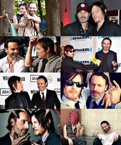 Andrew Lincoln and Norman Reedus----a bromance for the ages