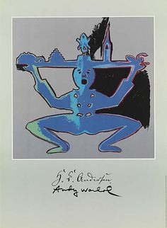 Andy Warhol 1987 Hans Christian Andersen
